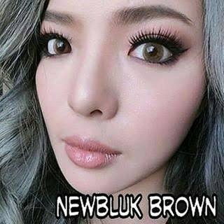 Spatax Paket Softlens Brown - Free softlen case & Cairan Soflen 60ml | Shopee Indonesia