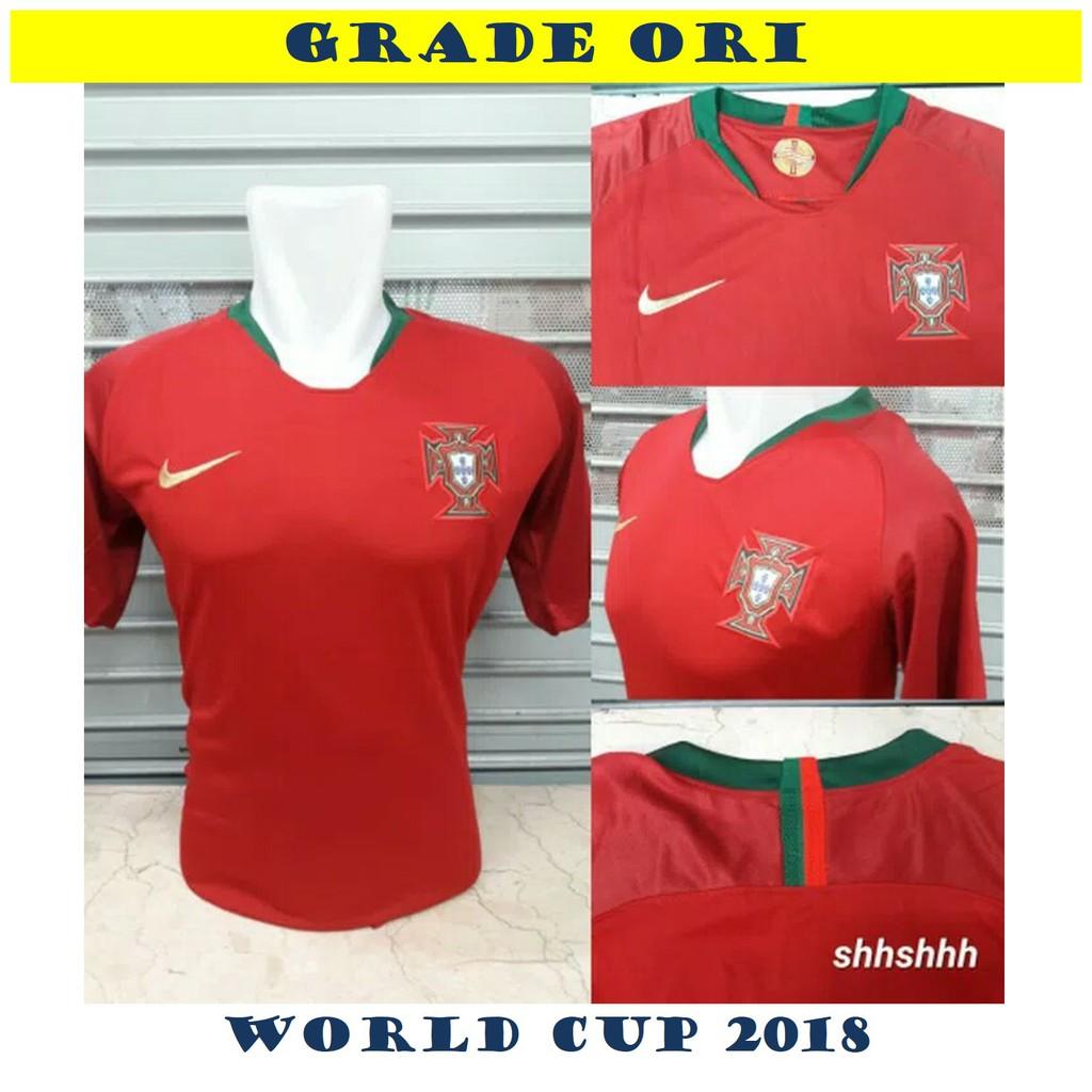 Jual Jersey (Baju) Bola Timnas Brasil (Brazil) Home (Kandang) Piala Dunia 2018  Grade Ori GO OFFICIAL  bedb49b6f