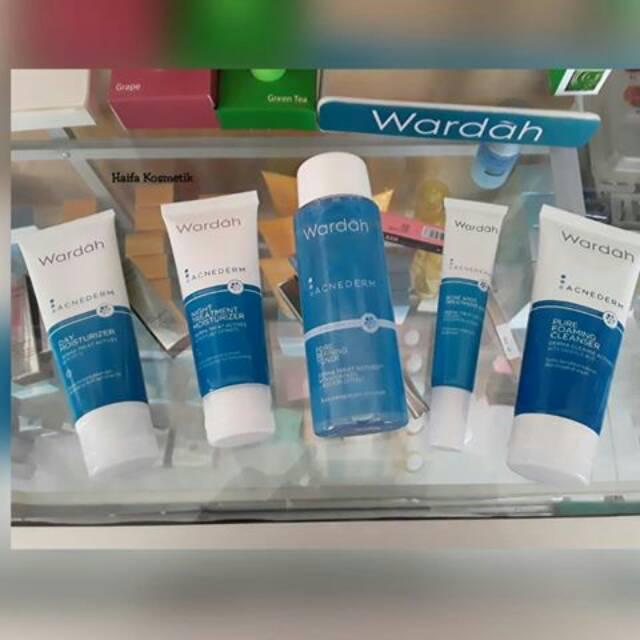 Paket Wardah Acnederm Untuk Kulit Berjerawat Shopee Indonesia