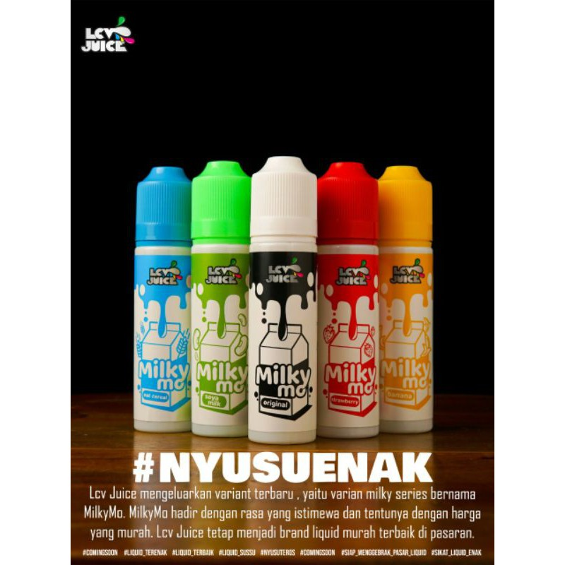 Lcv juice Milky Mo Series 60ML