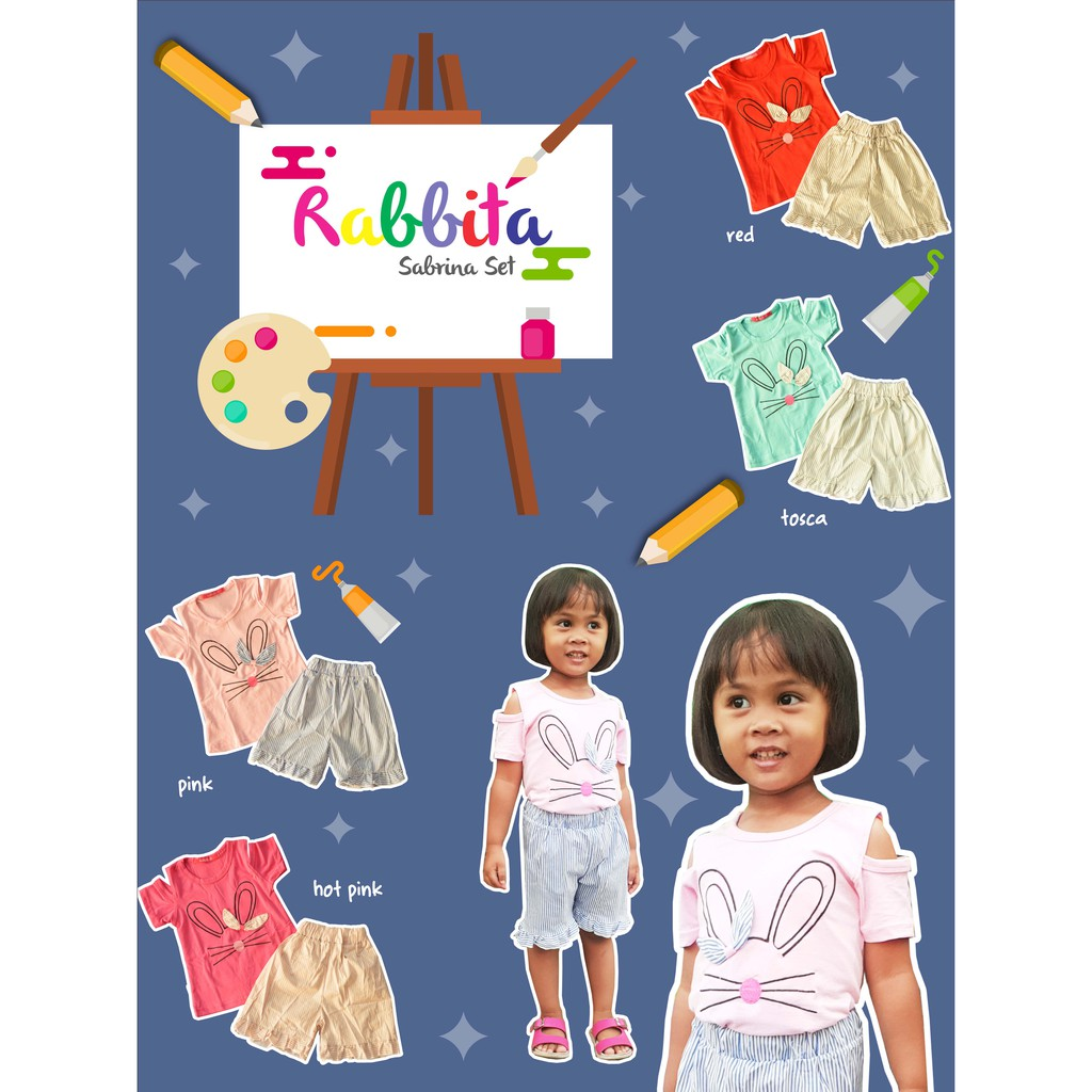 Setelan Sabrina Rabbita - 18 Bulan - 4 Tahun. Ke Toko 39156d034b