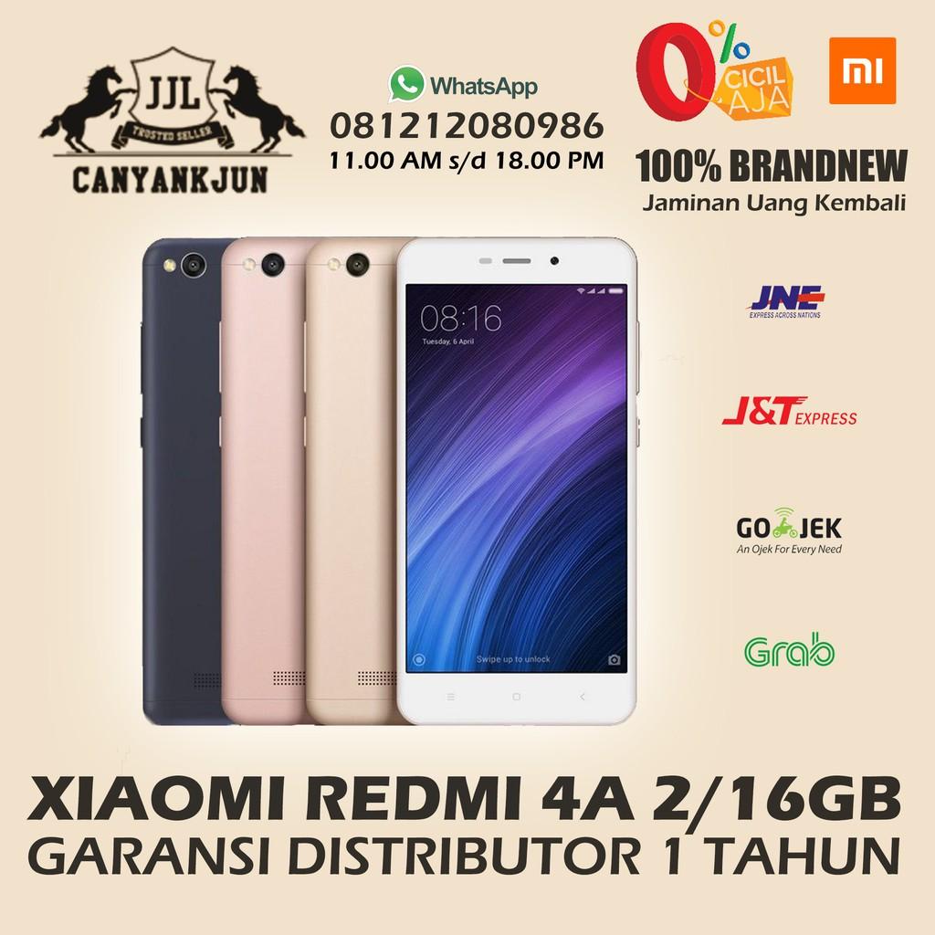 Xiaomi Redmi 4a 2 16 Gb Garansi Distributor 1 Tahun Shopee Indonesia Prime Ram 2gb Memori 32gb