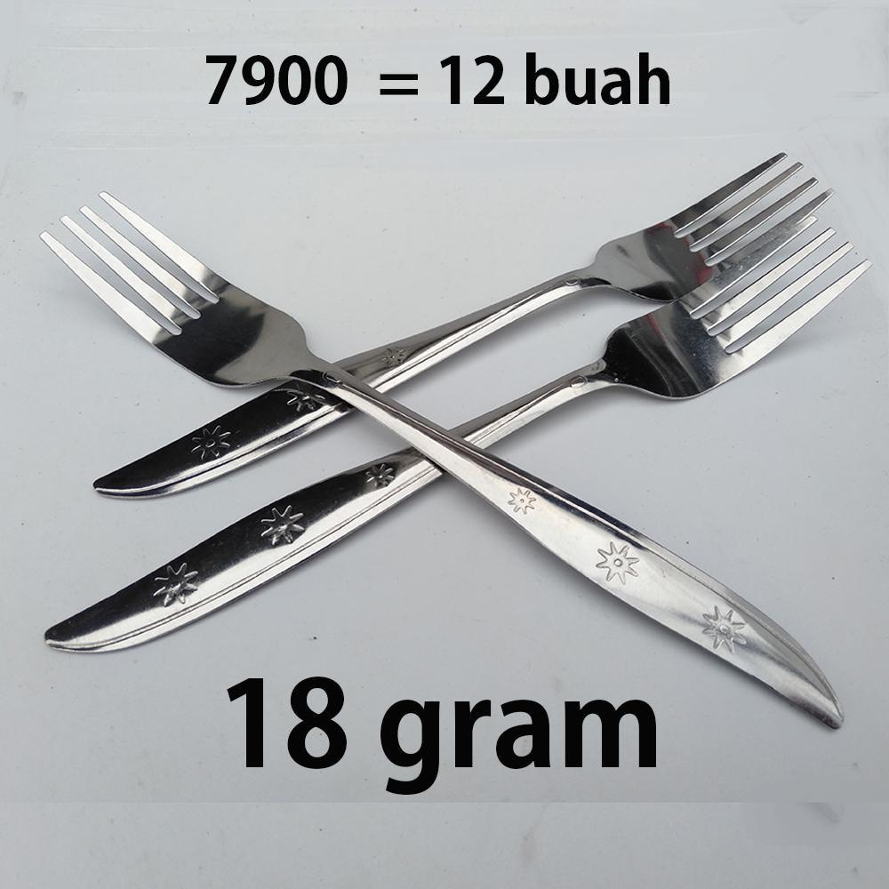 Garpu Makan 18gr isi 12