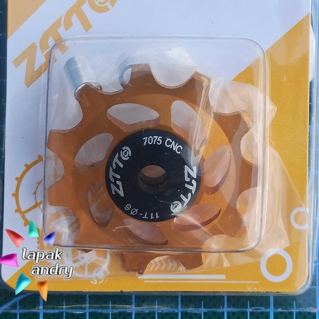 T9U8 Pulley Sepeda 11T Ceramic Keramik ZTTO untuk RD Rear Derailleur -  RT9