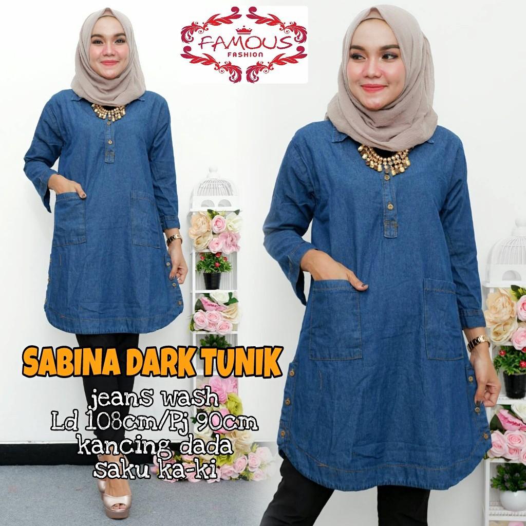 Sabina Tunik Shopee Indonesia Aretha 4warna