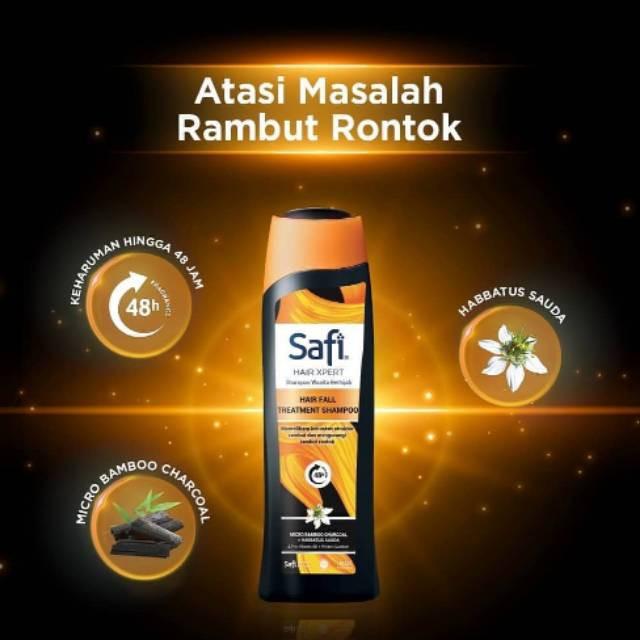 SAFI HAIR XPERT SHAMPO WANITA BERHIJAB / TREATMENT SHAMPO 160 ML-6