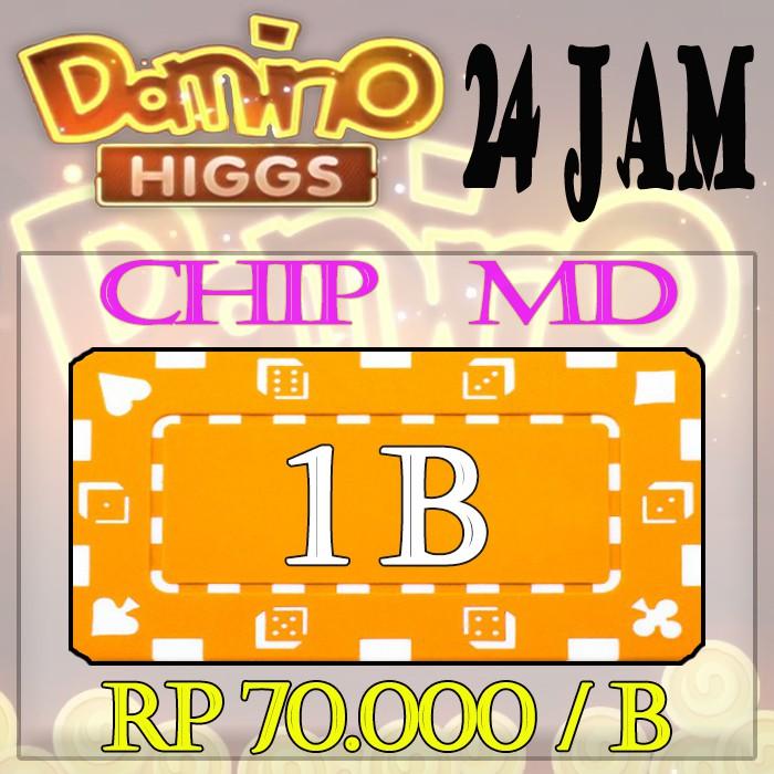Chip 1 B - Chip MD - Chip Ungu - Chip Resmi - Chip Ecer 1 B - Higgs domino Island