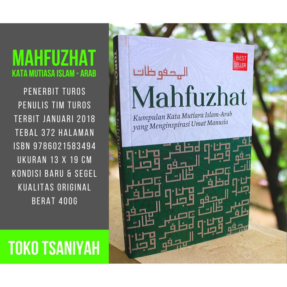 Buku Islami Mahfuzhat Kumpulan Kata Mutiara Islam Arab Buku Sastra