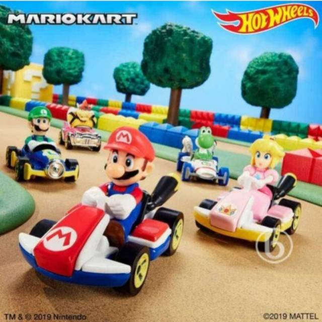 Hot Wheels Mario Kart Shopee Indonesia