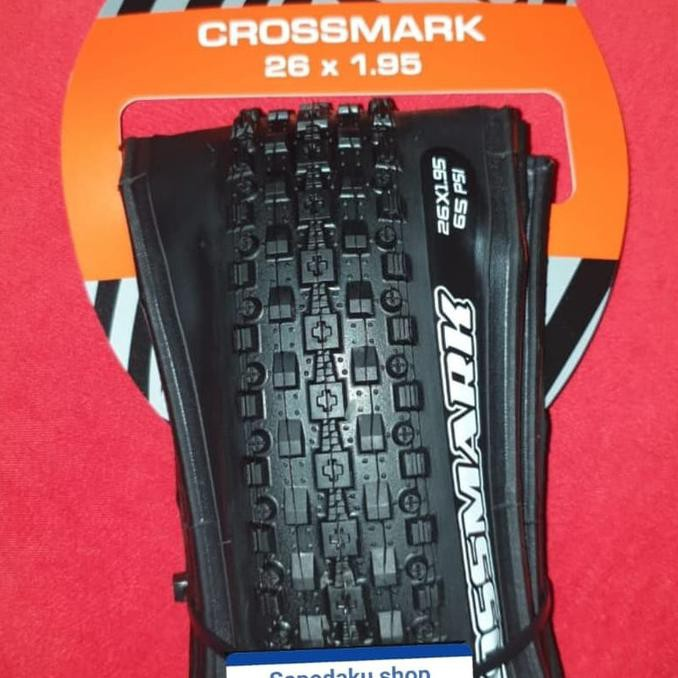 Ban sepeda 26x1.95 - ban sepeda mtb 26 - crossmark 26 - ban maxxis
