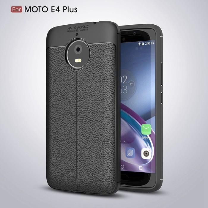 LEATHER AUTO FOCUS Xiaomi Redmi Note 5 Pro soft case casing back cover tpu kulit | Shopee Indonesia
