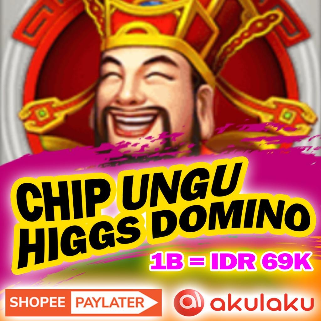 CHIP DOMINO HIGGS ISLAND - KOIN UNGU DOMINO HIGGS - TOP UP CHIP DOMINO HIGGS TERMURAH