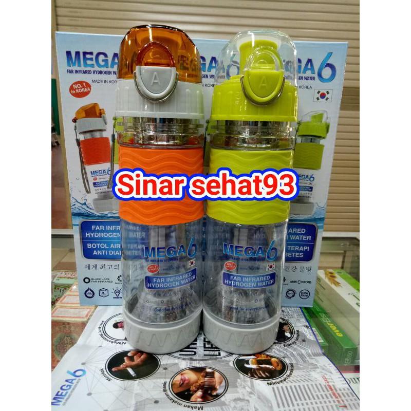 Mega 6 Air Botol Far Infrared Hydrogen Water Terapi Air Kesehatan Shopee Indonesia
