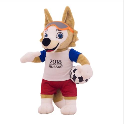 Boneka Maskot Dan Logo Negara Piala Dunia World Cup Russia 2018 ... 6f2b12f4ad