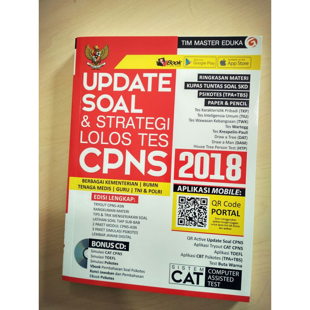 Buku Tes Cpns Update Soal Strategi Lolos Tes Cpns 2018 Shopee Indonesia