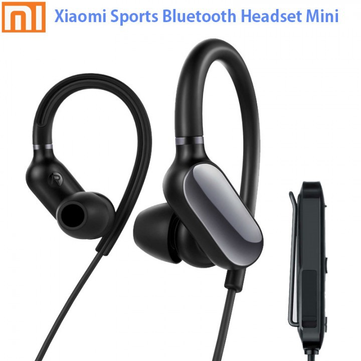 Original Xiaomi Sports Bluetooth Music Earphone Headset Mini Version Shopee Indonesia