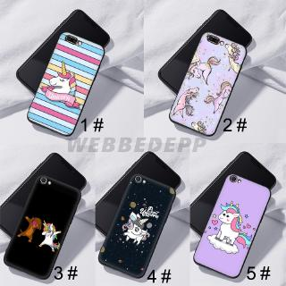 Casing Soft Case Gambar Unicorn Untuk Handphone Oppo A3s A39 A59 A83 A37 A7 A77 F7 F9 Shopee Indonesia