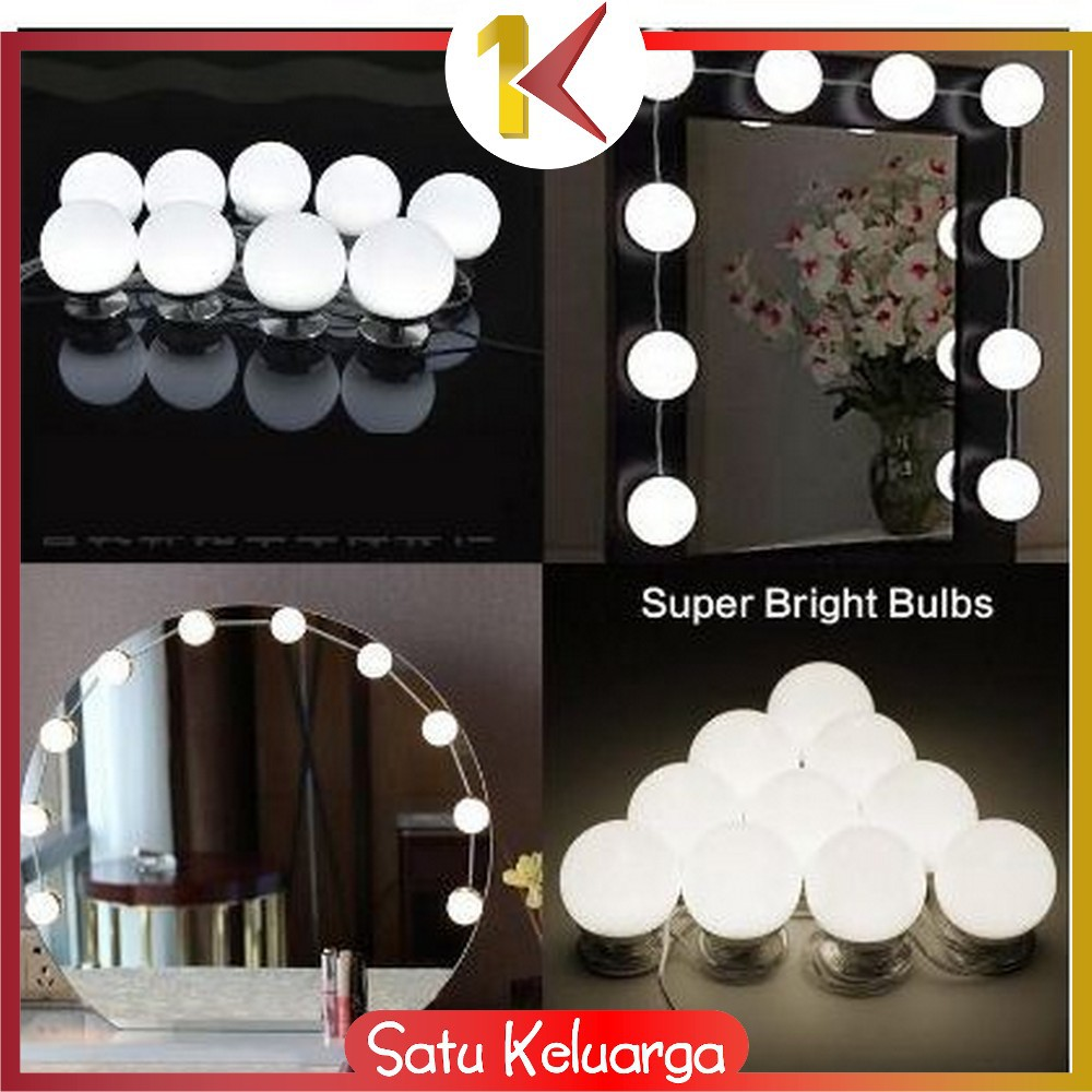 SK-K2 Lampu Led Meja Rias Make Up | Lampu Kaca Rias Vanity ...