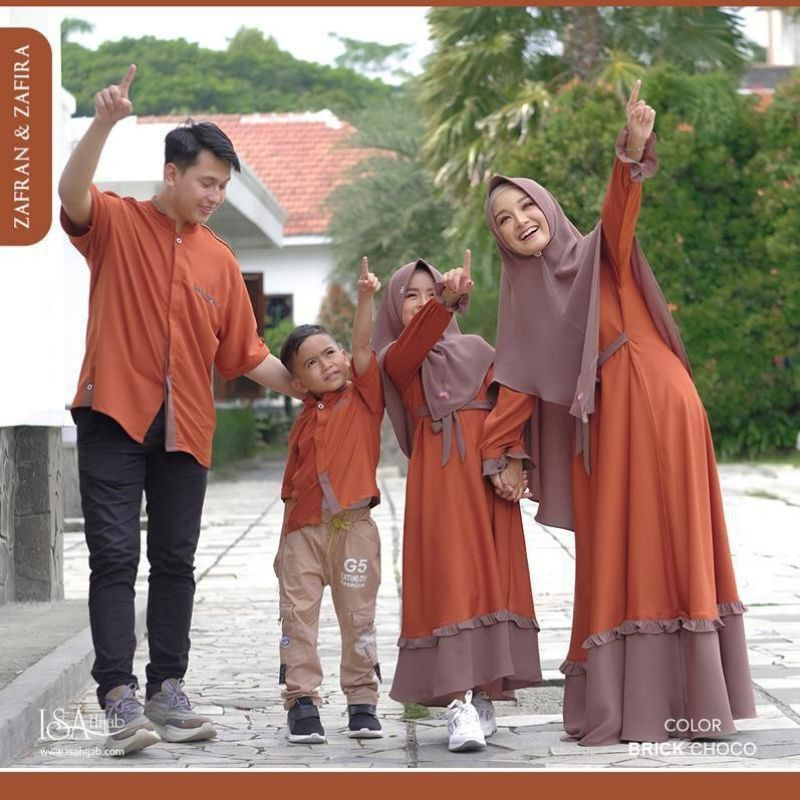 Sarimbit Family, ZAFRAN & ZAFIRA, COUPLE keluarga, ISA HIJAB