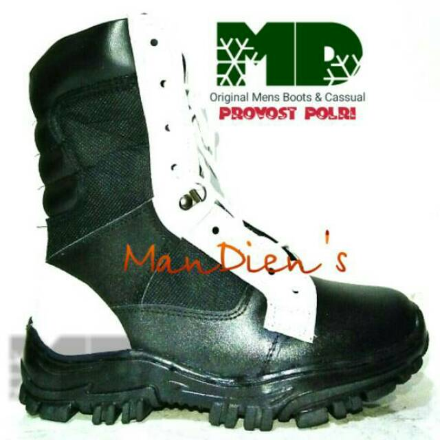 Mandiens PDL PROVOS POLRI Kulit Vs Kanvas Super  d2d3333011