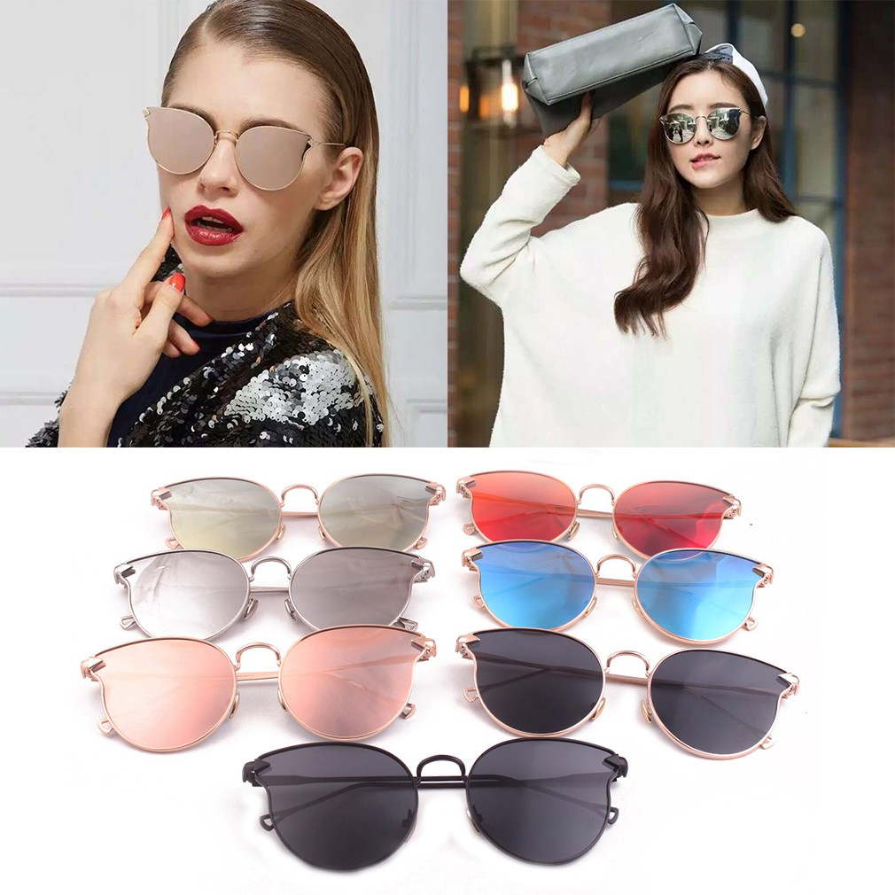 Bayar di Tempat INS Fashion Candy Color Small Kacamata Hitam Wanita Pria  Oval Sunglasses Women Men  69a1832653