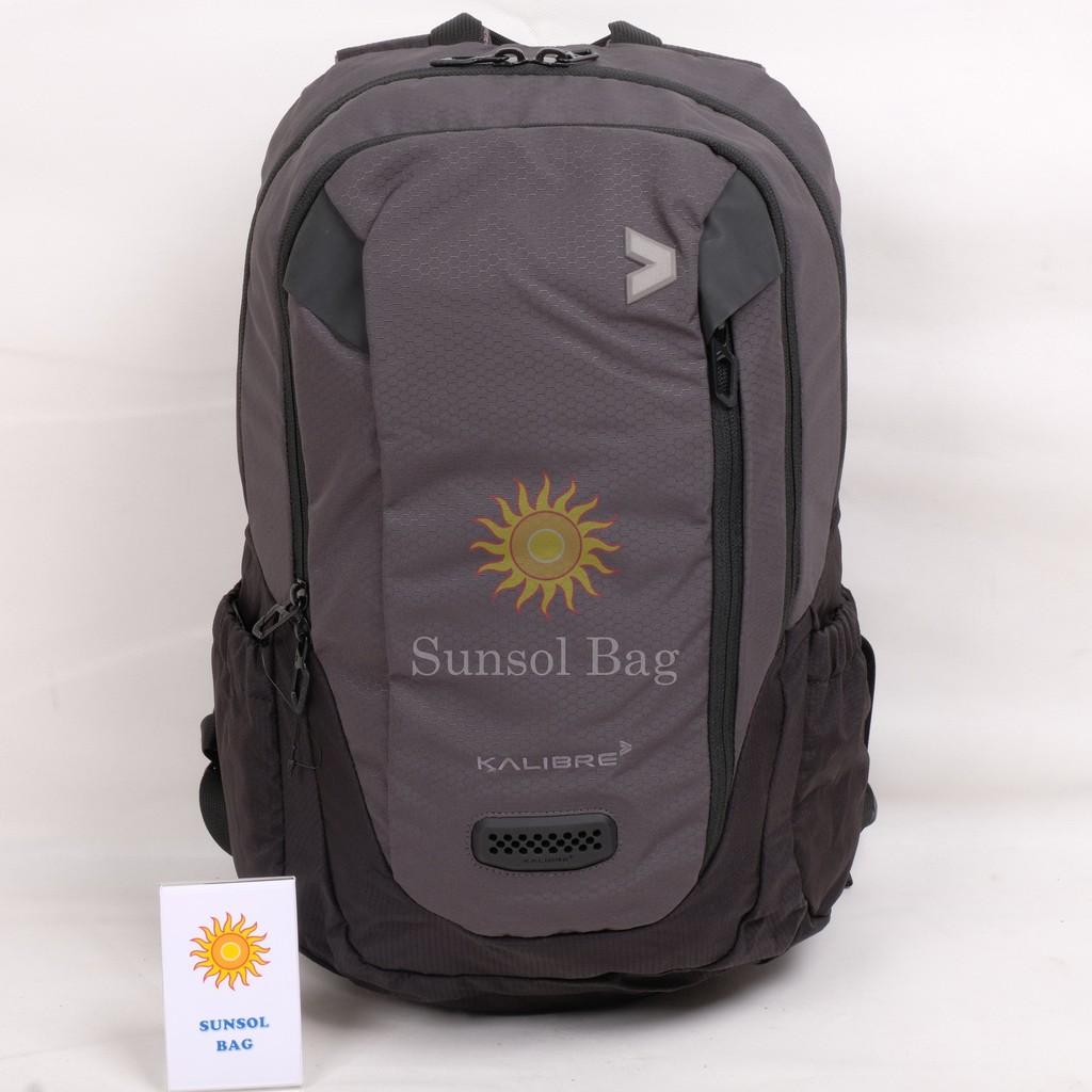Kalibre Occura Tas Ransel Daypack Backpack 910346 017 Abu Hitam Aesthetic 910405 000 Rugger
