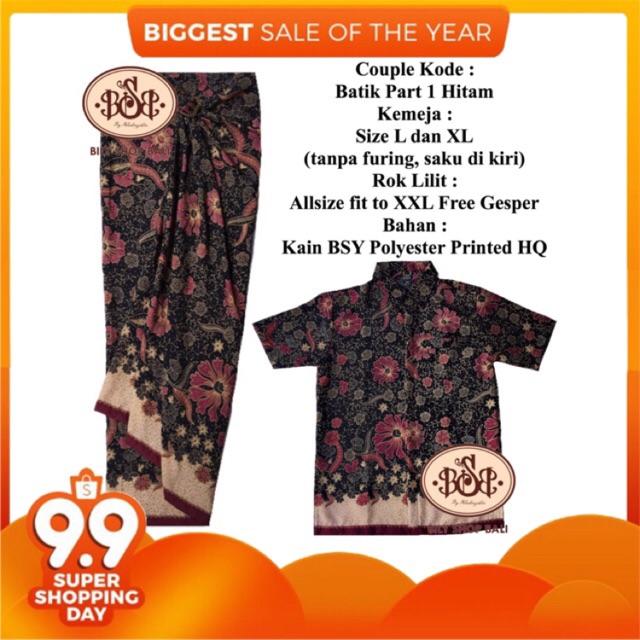 BILY SHOP BALI Rok Lilit Prade Part 1 Free Gesper Bestseller Kain Serut Etnik Batik Bawahan Kebaya | Shopee Indonesia