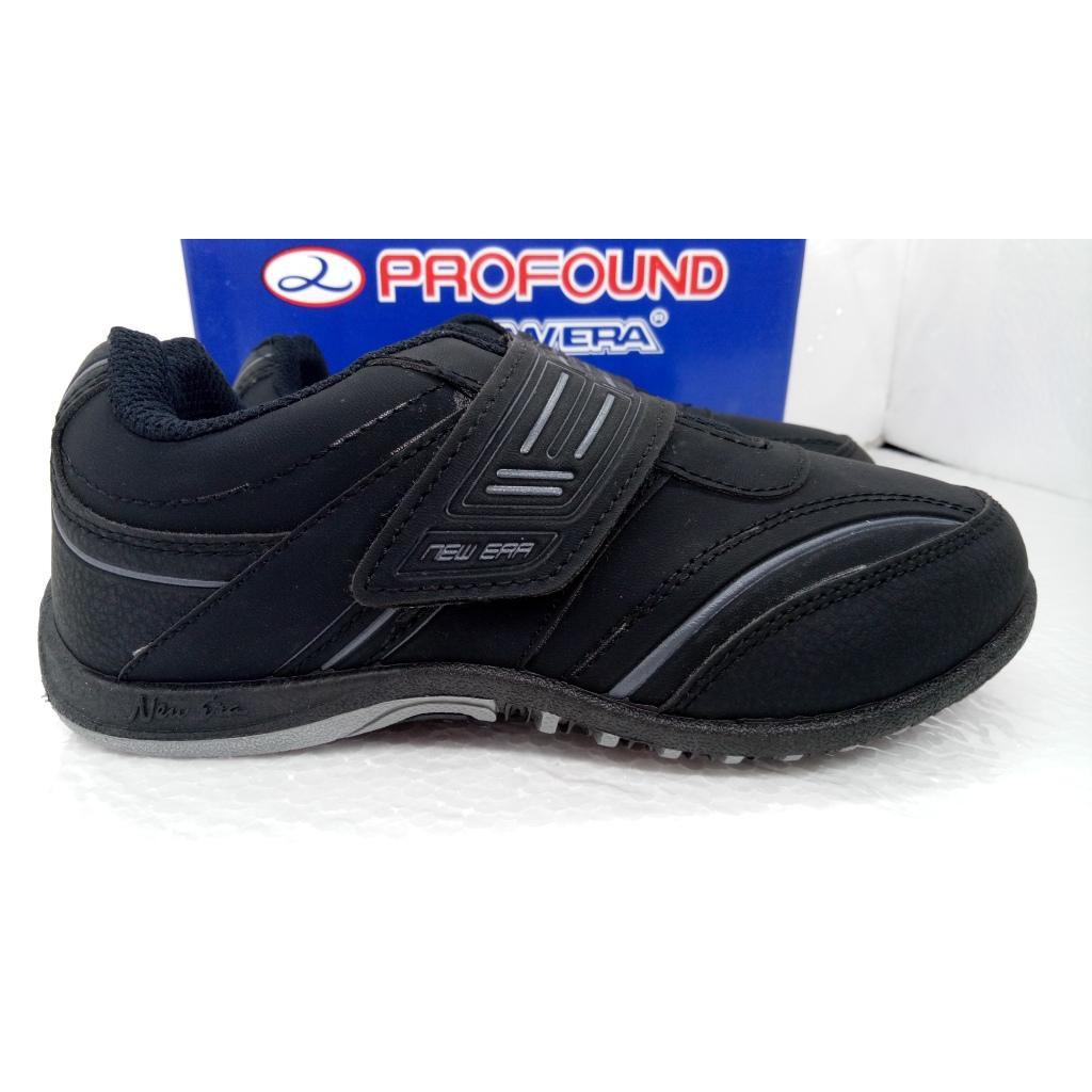 Sepatu anak sekolah TK SD SMP NB warna hitam putih velcro ORI murah ... 7f3e9e1d79
