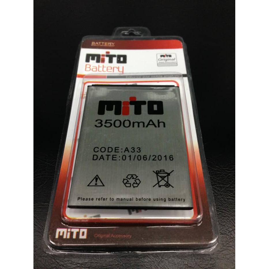 Baterai Mito Fantasy Style Mito A550 BA-00119 3500Mah Original | Shopee Indonesia