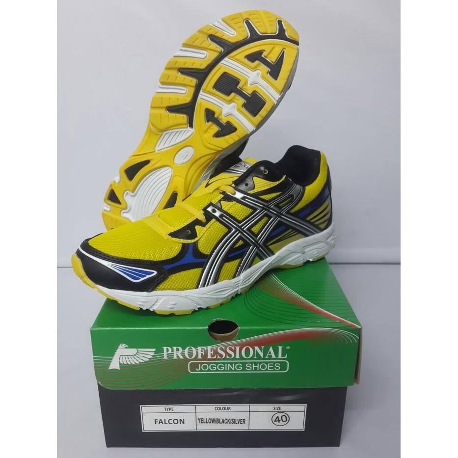 Sepatu profesional trainer jogging shoes running voli badminton original  22b87a7948
