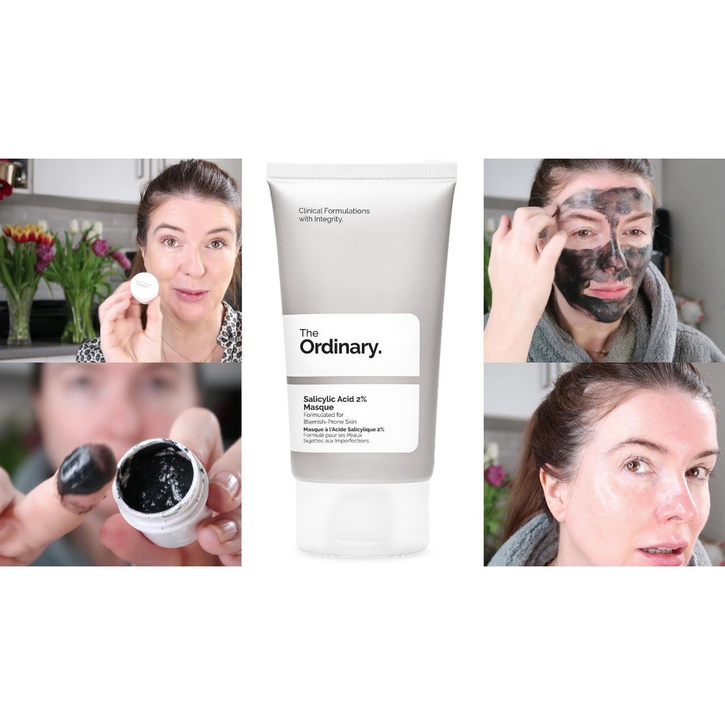 The Ordinary Salicylic Acid 2 Masque 50ml Shopee Indonesia