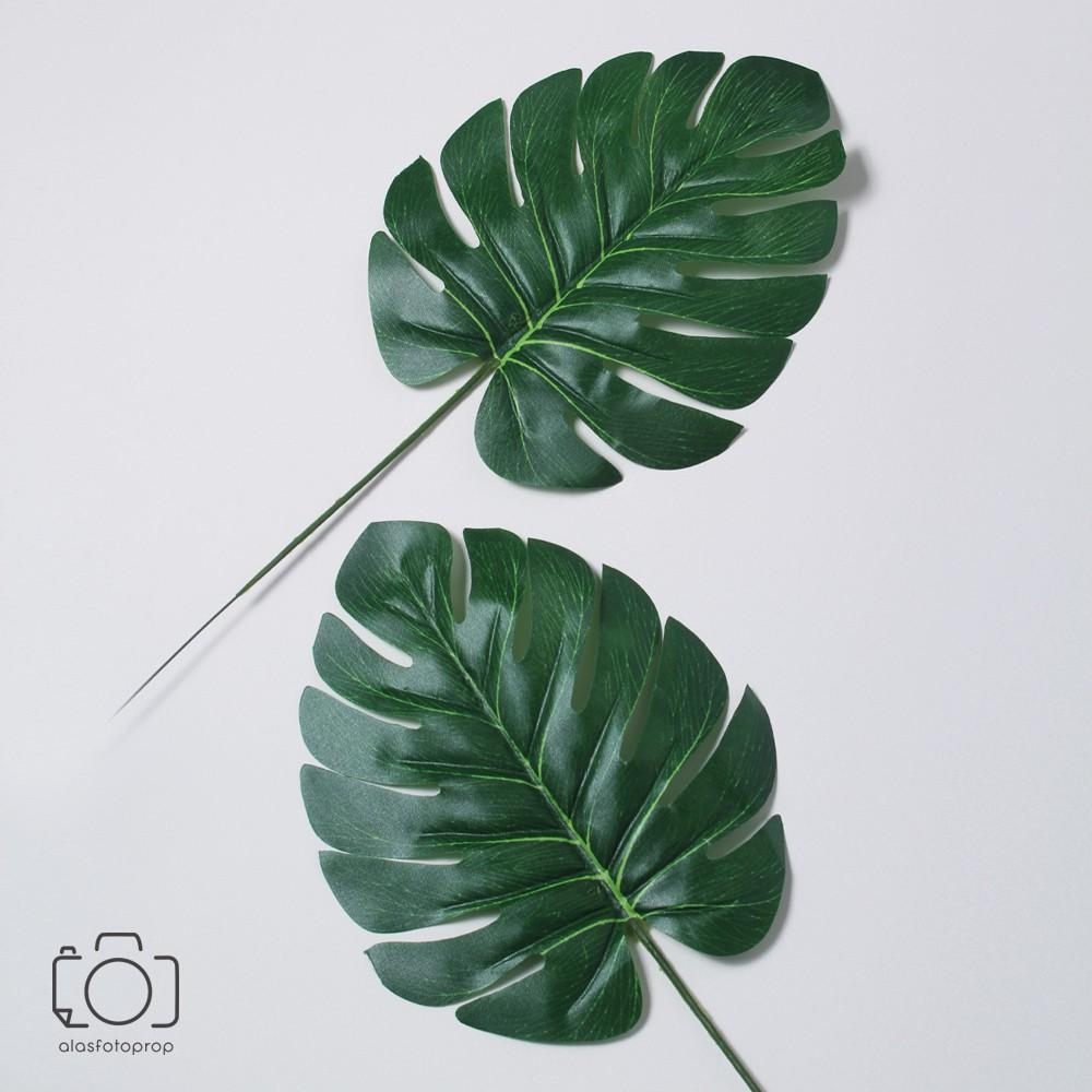 Daun Palsu Tanaman Buatan Artificial Leaf Properti Foto Produk Shopee Indonesia