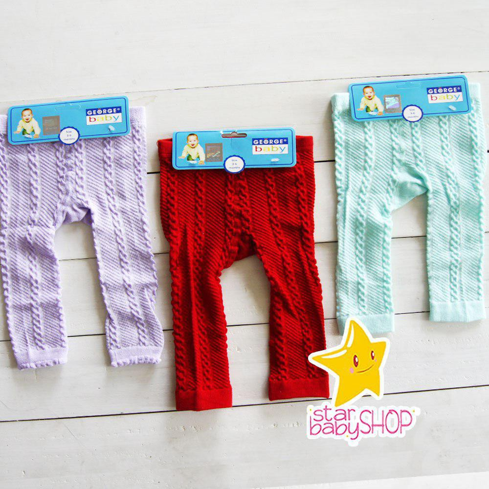 Legging Bayi Celana Legging Rajut Buka Kaki Bayi Bahan Tebal Shopee Indonesia