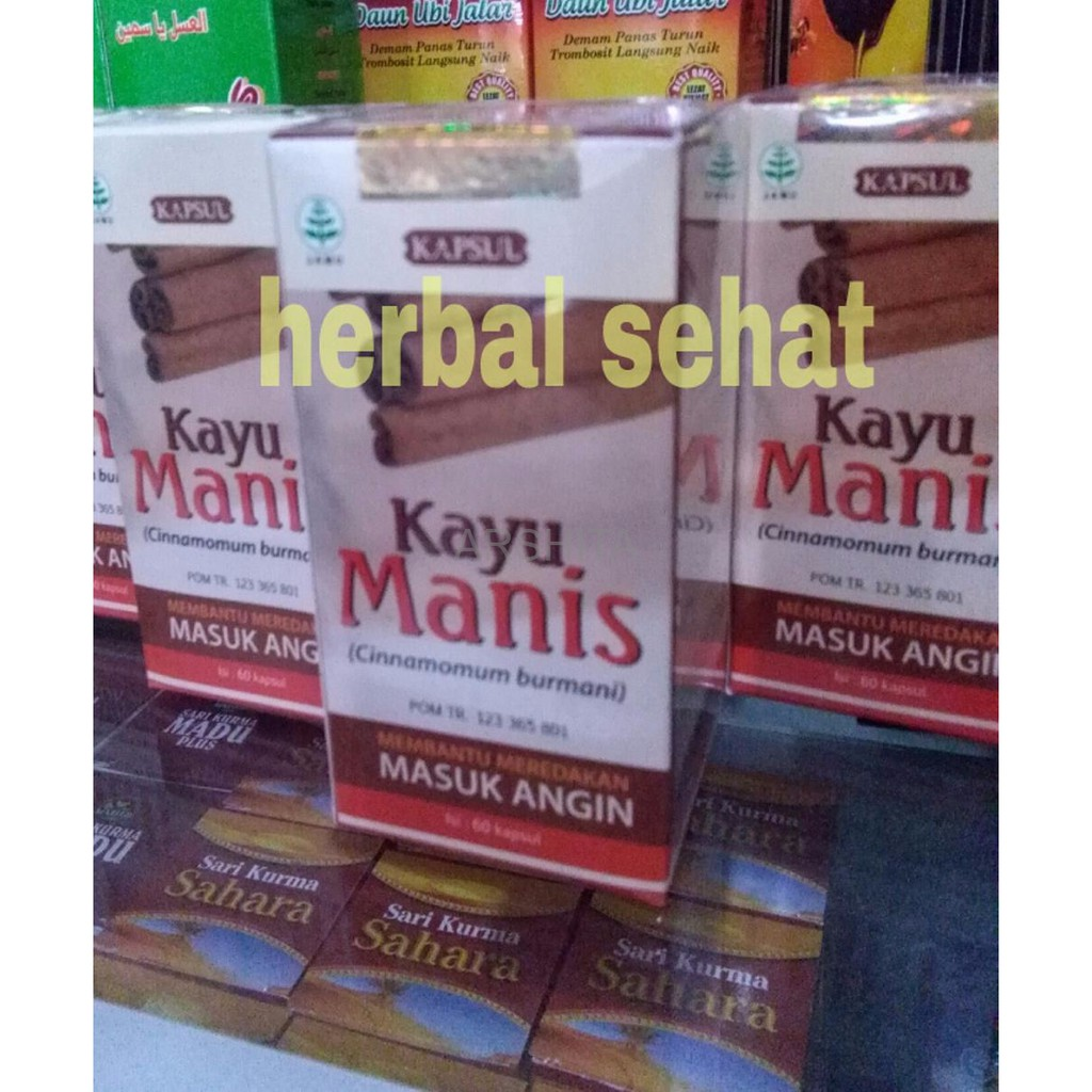 Hiu Kayu Manis 500 Kapsul Shopee Indonesia Serbuk Cinnamon Herbal Alami