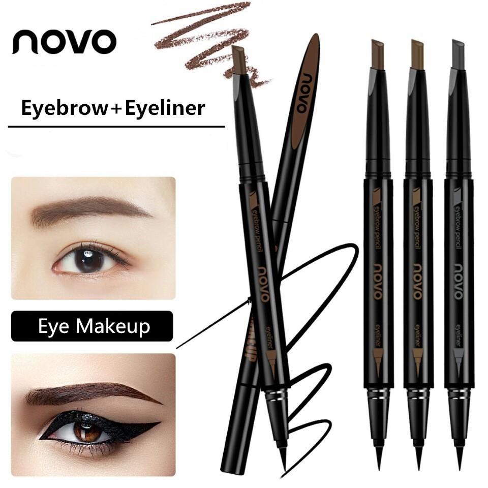 Emina Agent Of Brow Pensil Alis Eyebrow Pencil Viva Original Shopee Indonesia