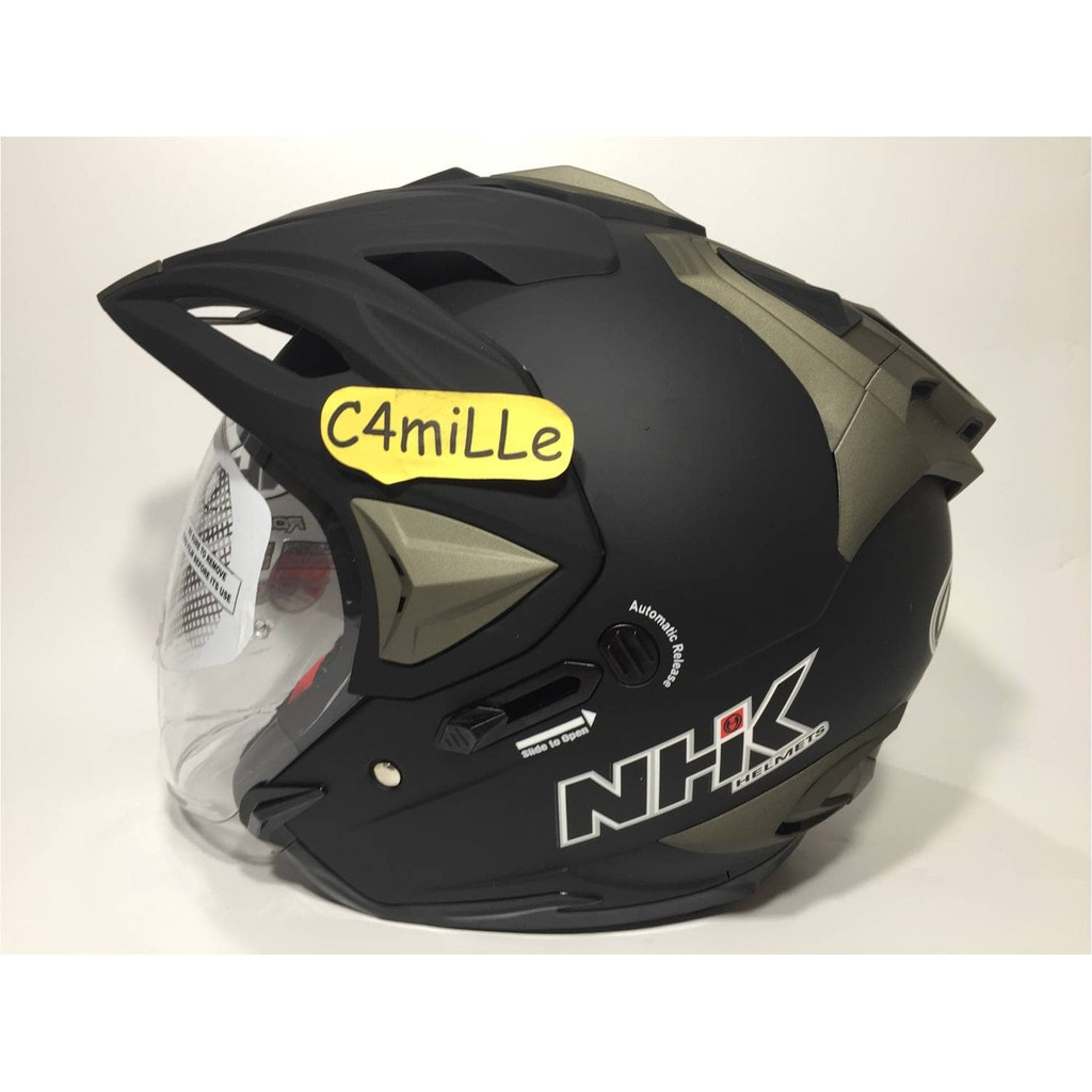 Restock Cargloss Helm Mx Cross Oackley Black Met Fullface Mxc Ycn New Half Face Deep Hitam Size Xl Trail Shopee Indonesia
