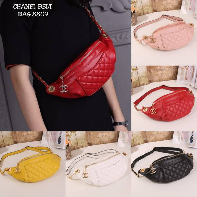 RESTOCK CHANEL WAIST BAG   TAS PINGGANG CHANEL  773f02af40