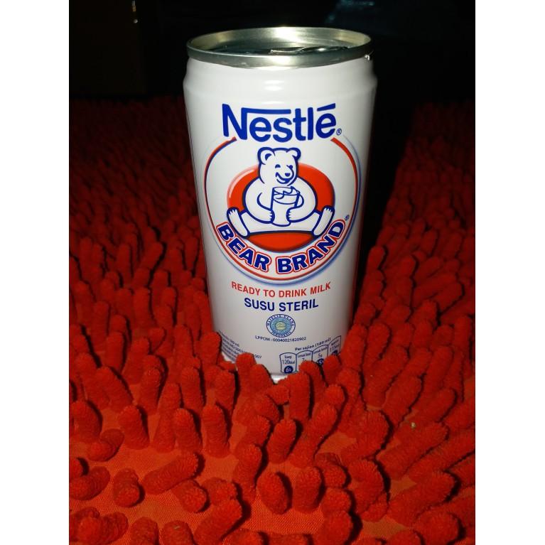 Bear Brand Nestle Susu Steril 189 Ml Shopee Indonesia