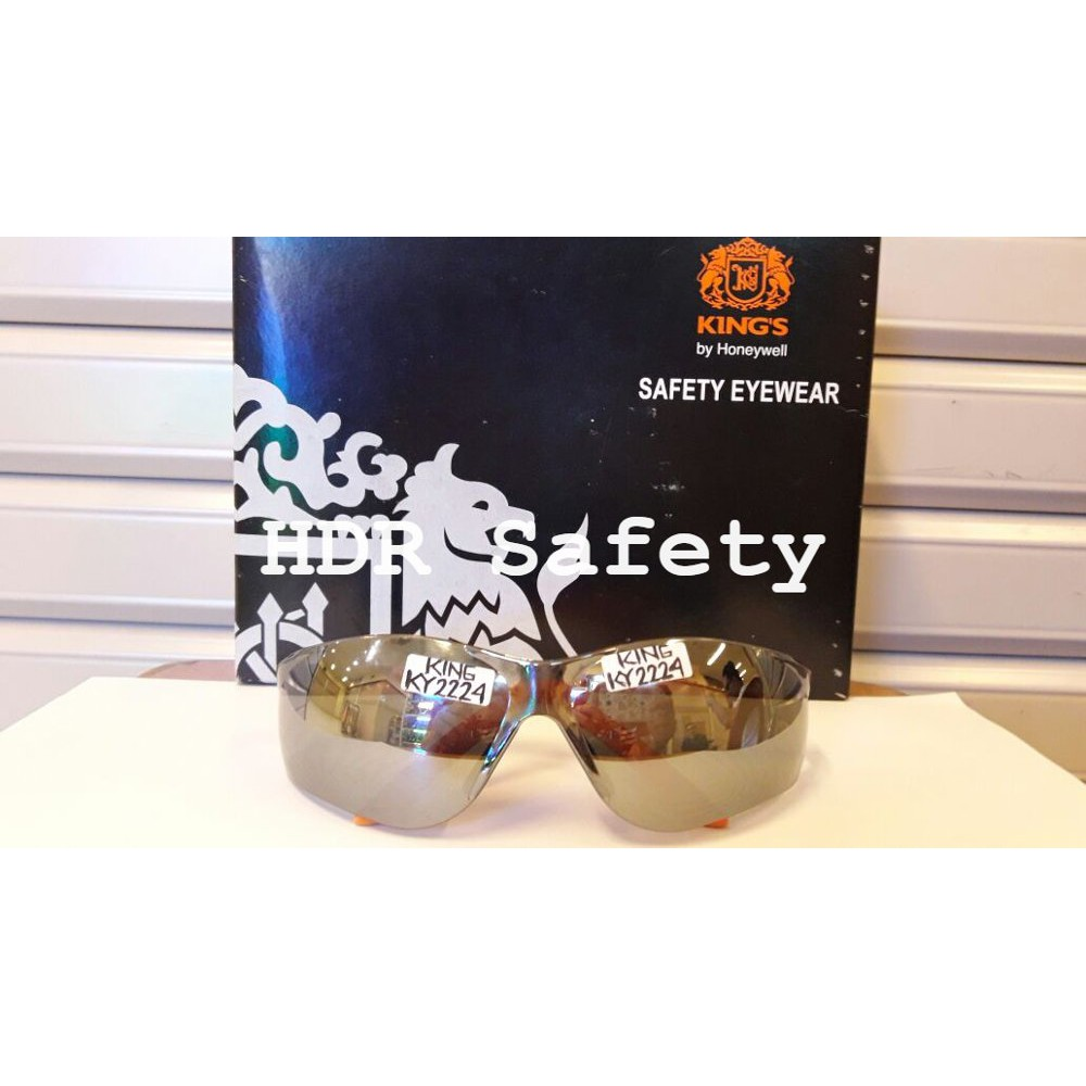 Diskon Kacamata Safety Kings Ky2224 Grey Mirror Shopee Indonesia Kerja Motor Ky 733 Original