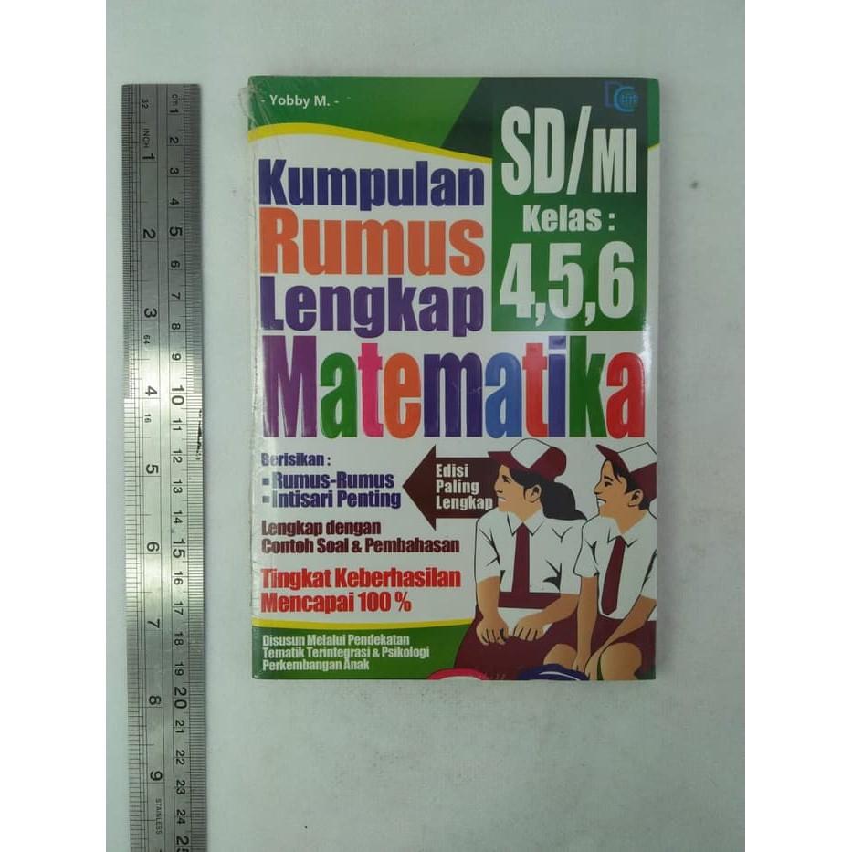 Buku Kumpulan Rumus Lengkap Matematika Sd Mi Kelas 4 5 6 Buku Sd Rumus Matematika Shopee Indonesia