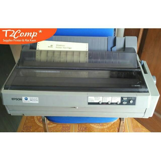 Printer Dotmatrix A3 Epson Lq2190 Lq 2190 Usb Shopee Indonesia