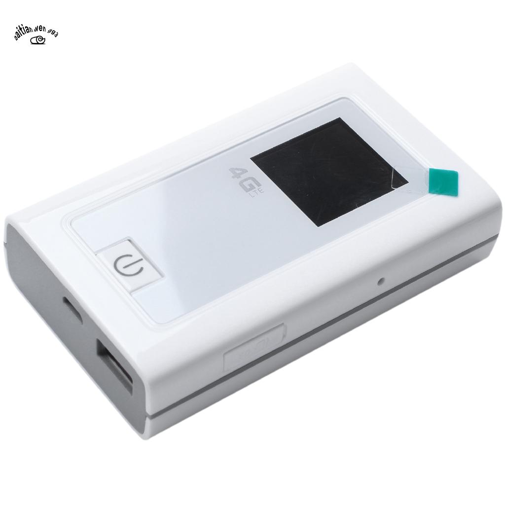 4G Wifi Router Car Mobile Hotspot Wireless Broadband Pocket Mifi Unlock Lte Modem Wireless Wifi Extender Repeater Mini Router With Sim Card Slot
