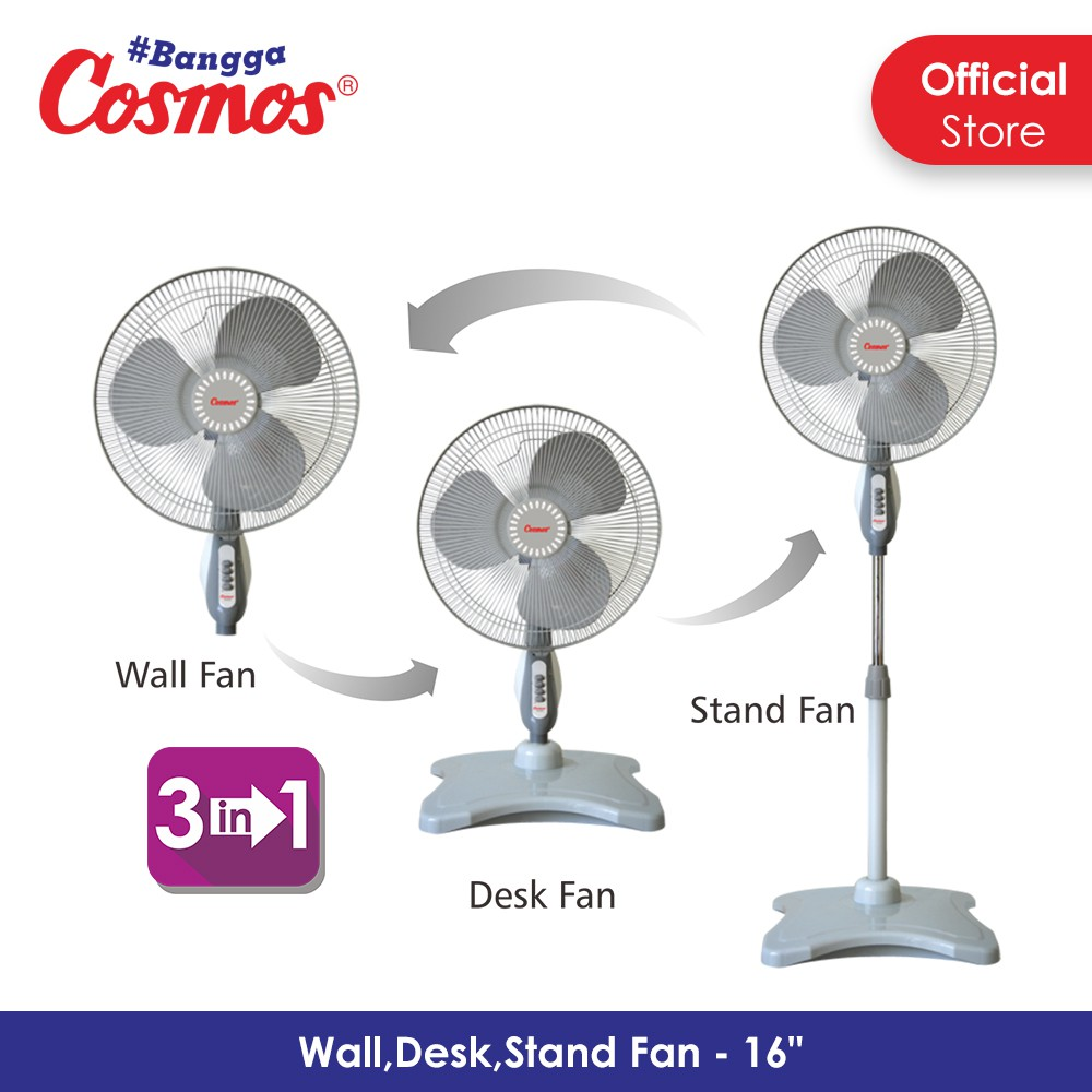 Cosmos 16 Snq Kipas Angin 2in1 Inch Stand Desk Shopee Berdiri Fan 2 In 1 Sbi Indonesia