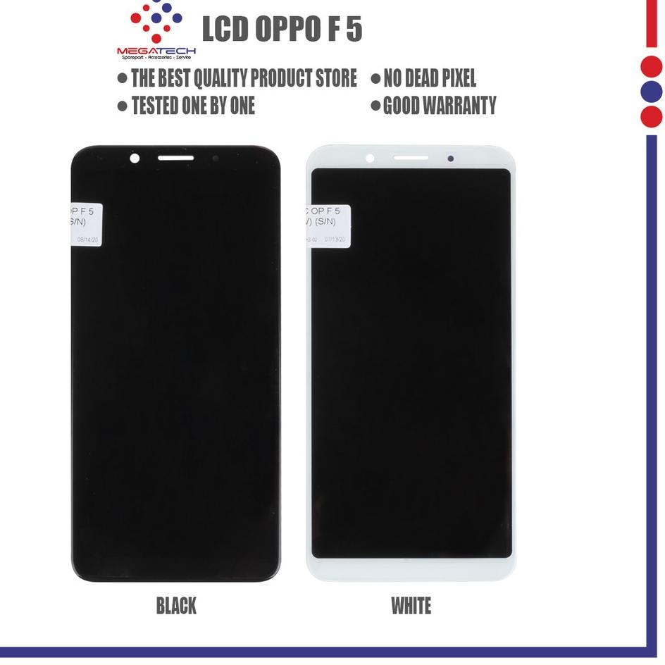 First Now LCD Oppo F 5 / F5 Youth  Fullset Touchscreen