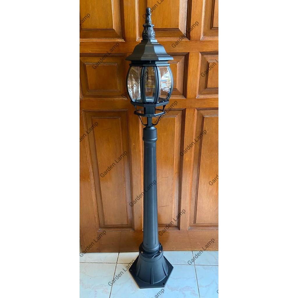 Lampu Taman Borobudur Lampu Taman Antik Lt 025 Ukuran Besar Shopee Indonesia
