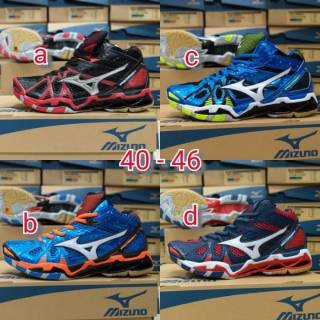 Mizuno wave prophecy 7 sepatu volly badminton  925ad7ca2f