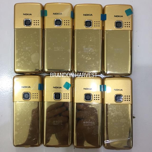 NOKIA 6300 GOLD ORIGINAL GARANSI 1 BULAN ...