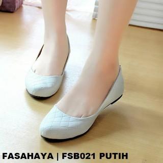 ... Fasahaya Sepatu Wanita Flat Shoes Ballet Cantik Terbaru Murah FSB021  Putih. suka  12 ad5b3fd2a2