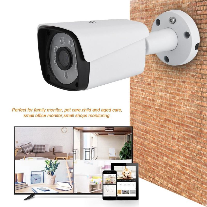 Kamera Security Ahd Dvr Video Hd 200w Pixels Plug Uk Shopee Indonesia