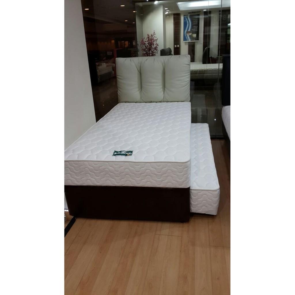 Spring Bed Latex Relax Ukuran 180x200 Shopee Indonesia Uniland Paradise Plushtop Dakota 200x200 Kasur Tanpa Divan Sandaran Jadebotabek Only